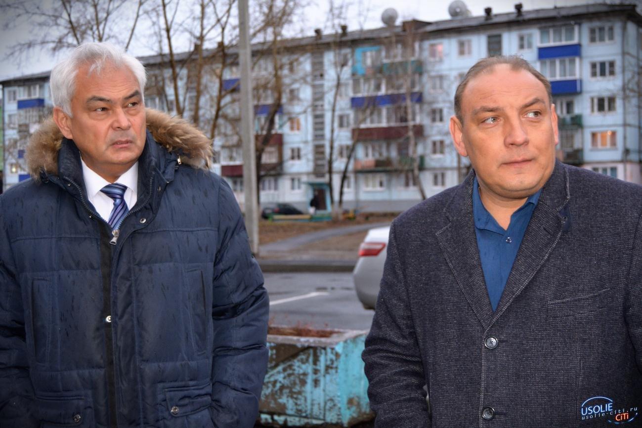Утром в Усолье нагрянул министр с проверкой