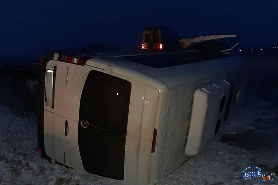 За миг до ДТП водитель крикнул «Держитесь!»: подробности аварии c маршруткой под Усольем