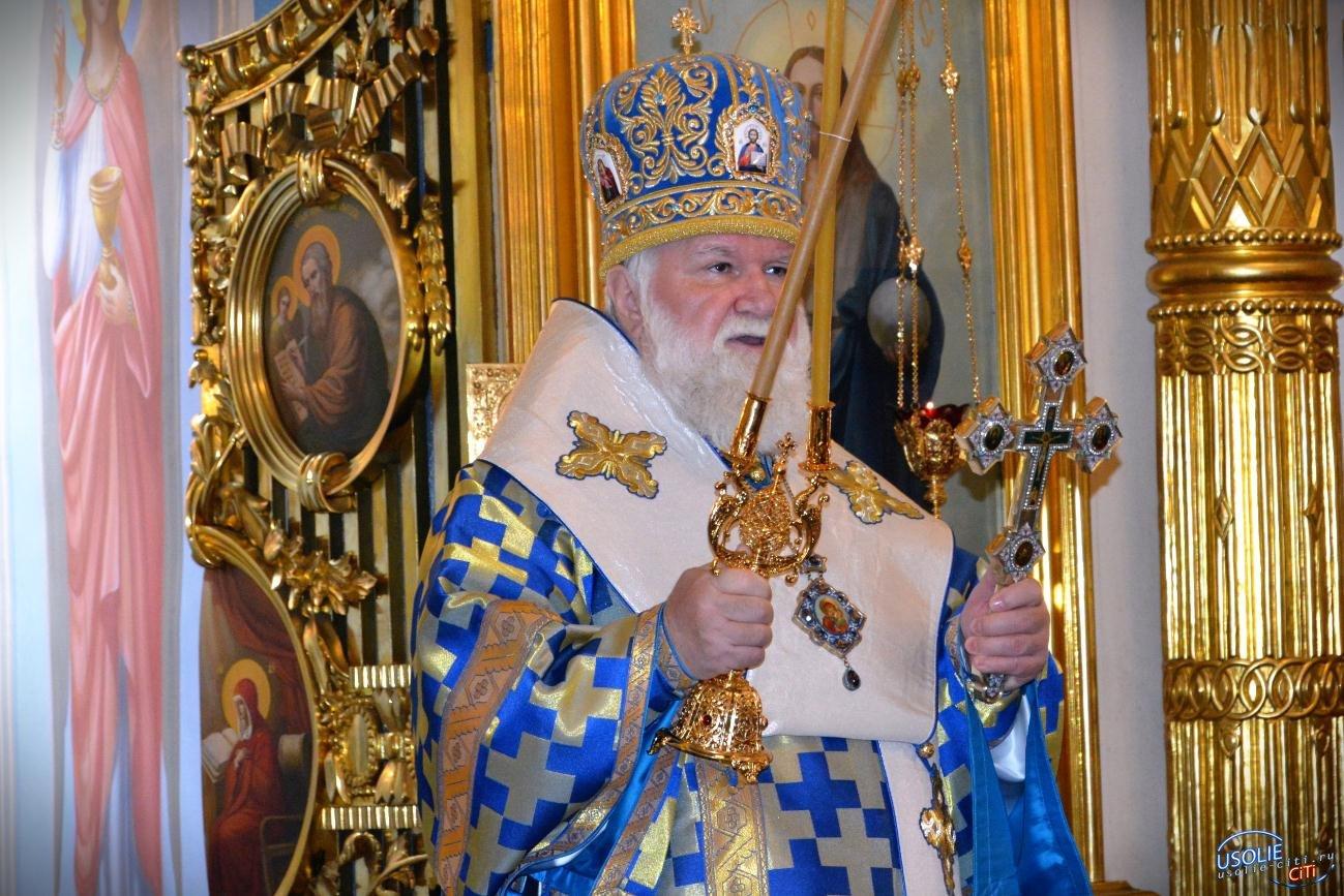Митрополит Иркутский и Ангарский Вадим посетил храм в Усольском районе