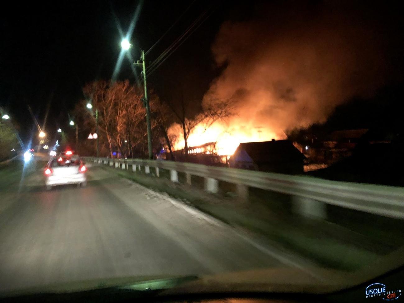 Сгорел в миг. Пожар оставил без дома семью в Усолье