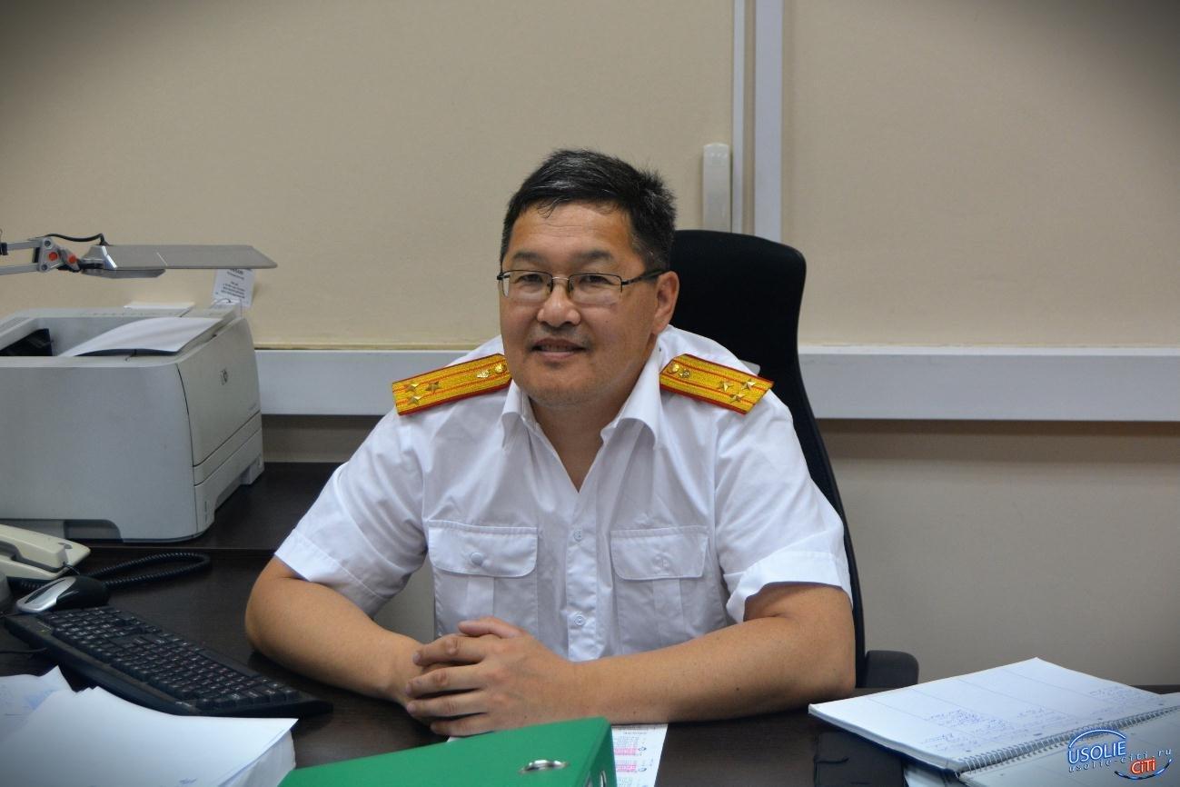 Валентин Хангаев поздравляет сотрудников полиции Усолья с профессиональным праздником