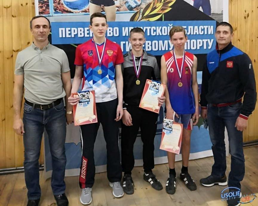 Усольские гиревики завоевали медали