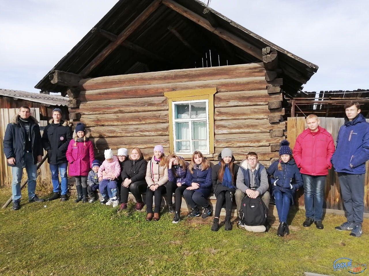Ученики Усольского района путешествовали на школьном автобусе