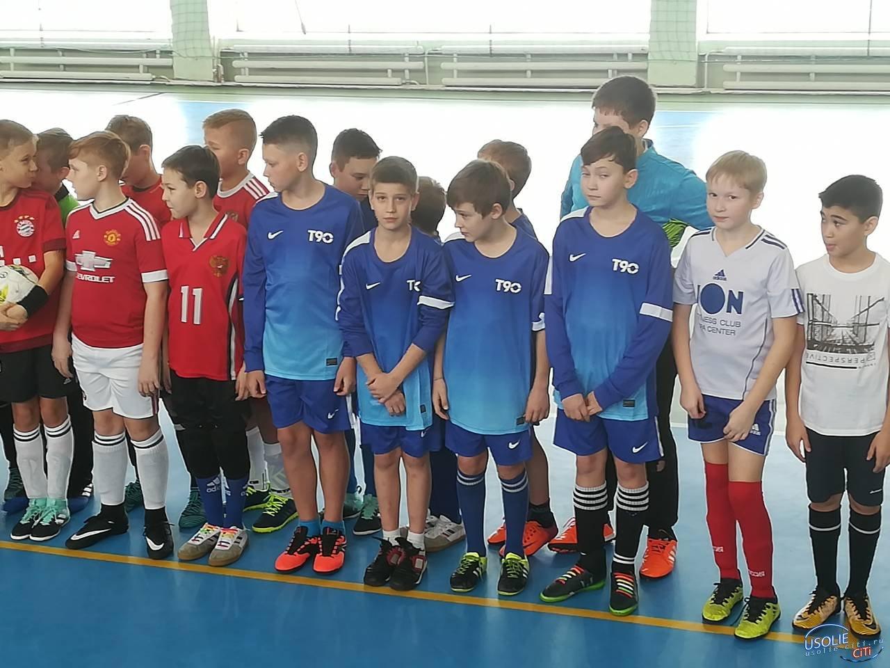 Футболисты Усолья начали с побед