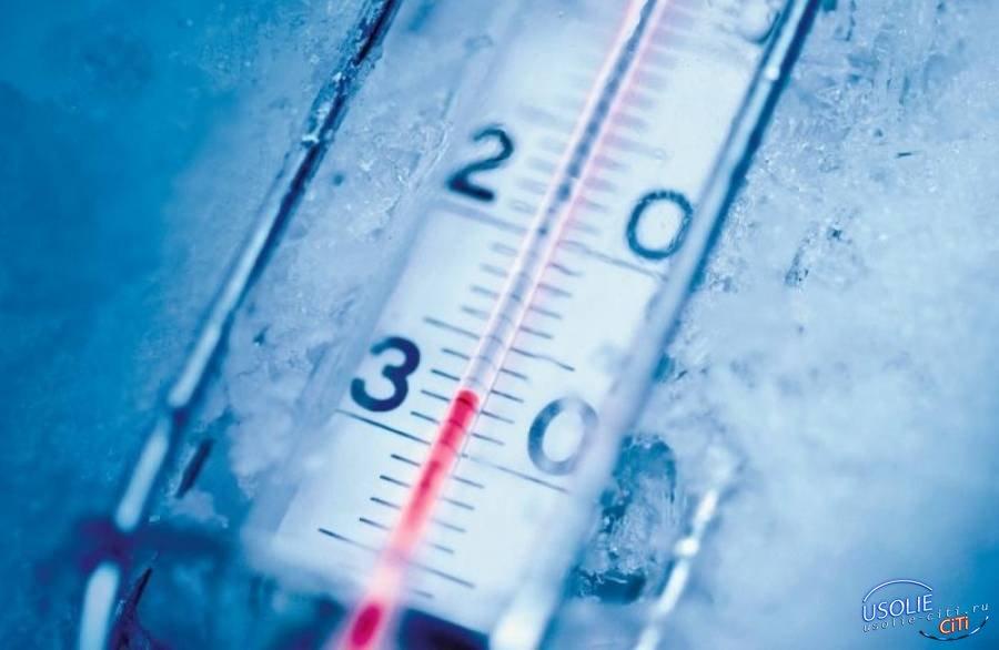 Мороз до минус 27-ми: Сегодня в Усолье нагрянет настоящая зима