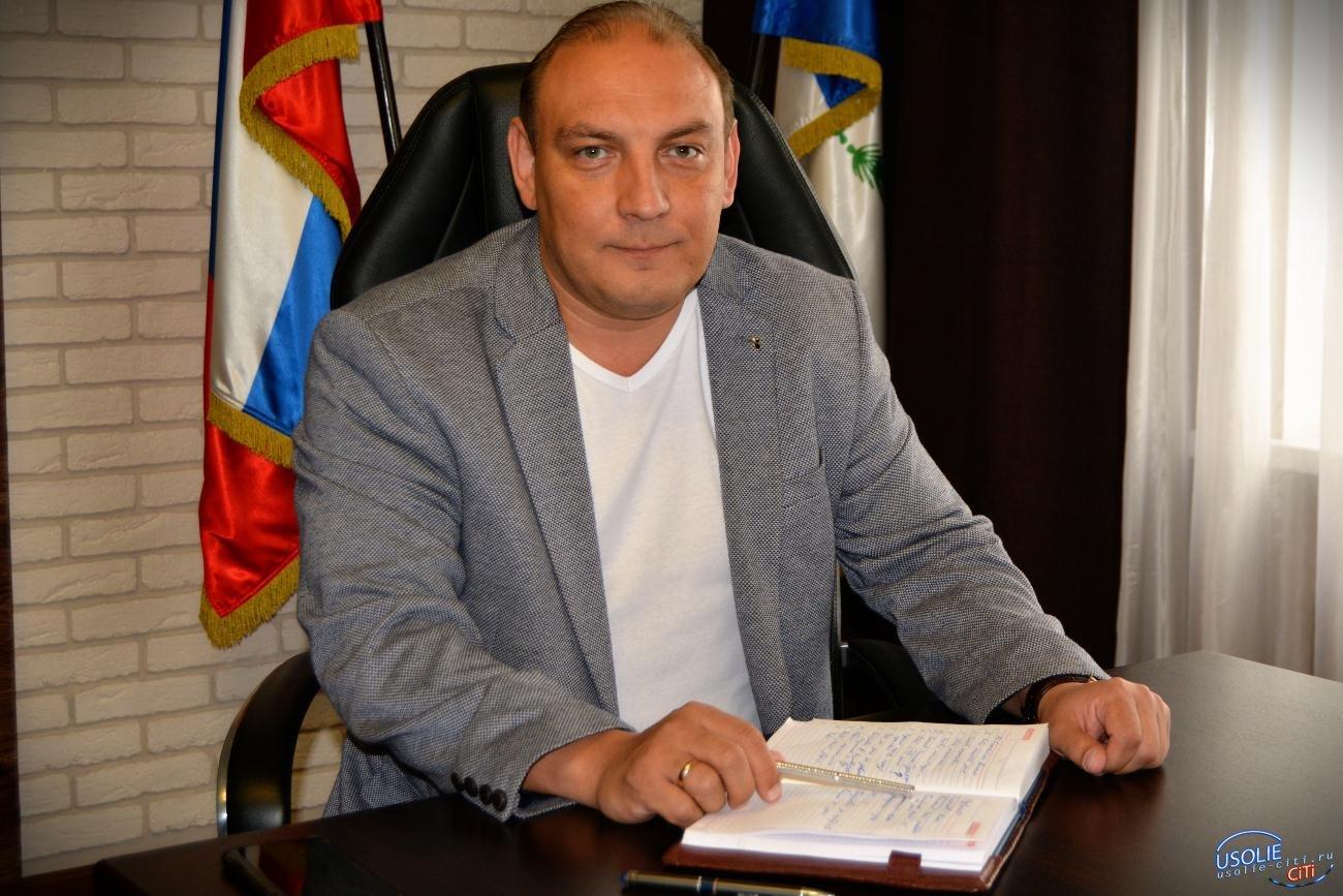 Максим Торопкин в Усолье привез 500 тысяч рублей и диплом