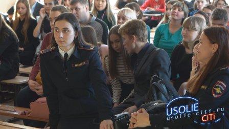Ректор ИрГУПС встретился с преподавателями и школьниками Усолья