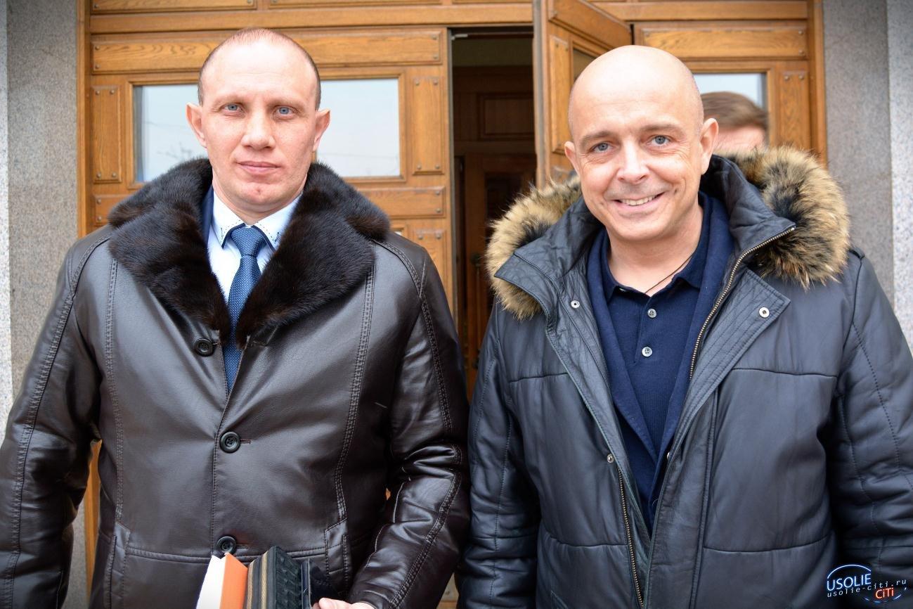 Усольчанин Михаил Ожиганов встретился со спикером парламента Иркутской области