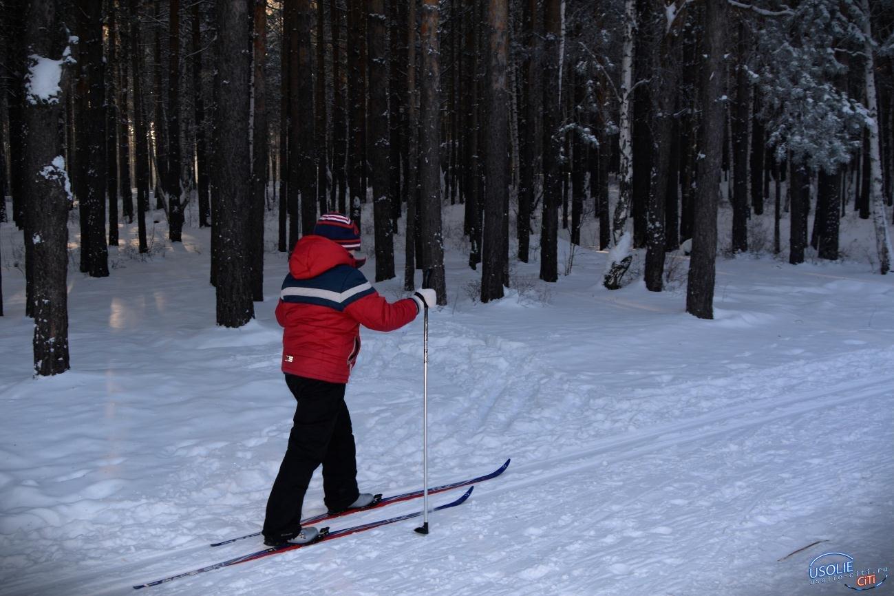 В Усолье открытие зимнего сезона по лыжному спорту