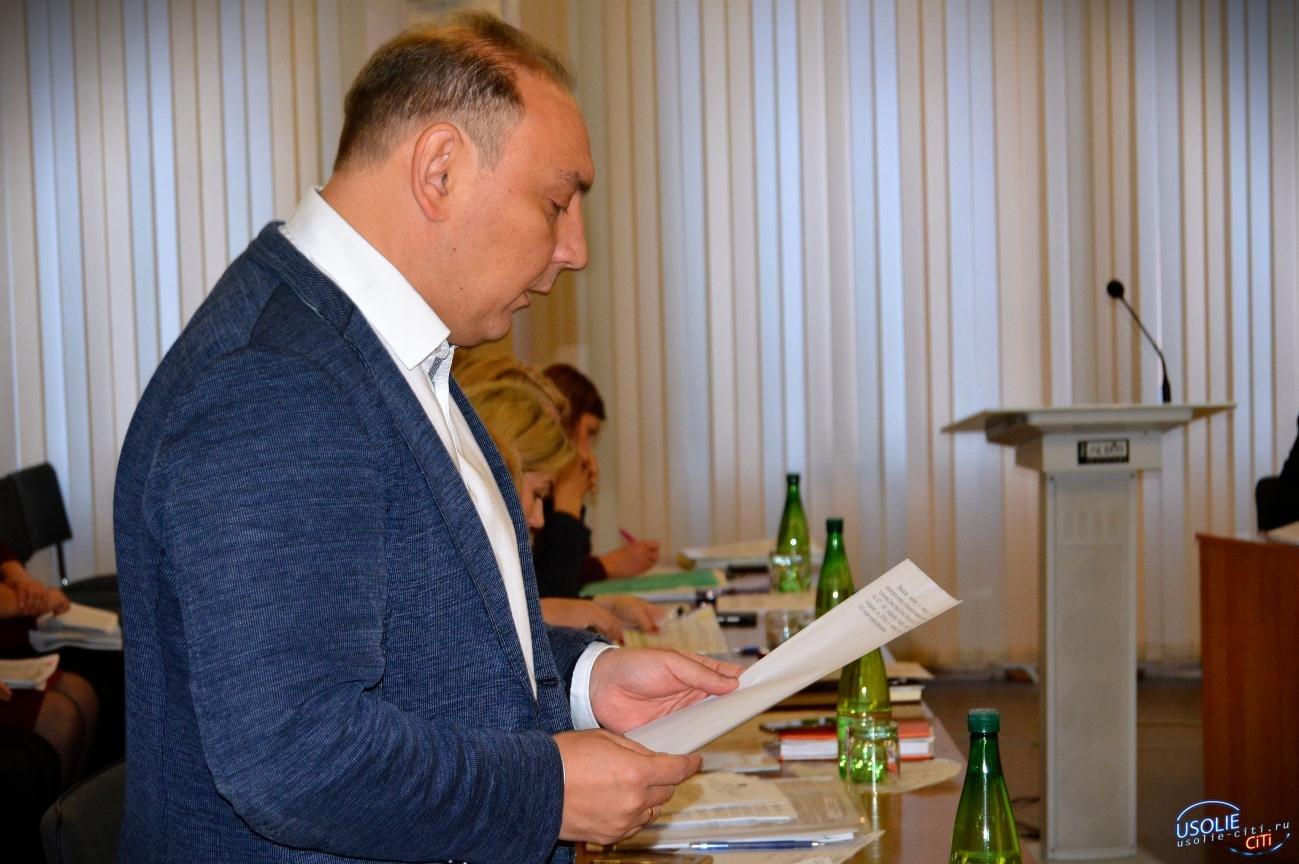 ВИДЕО. Дума-Усолье: Депутаты принимают бюджет. Идет заседание