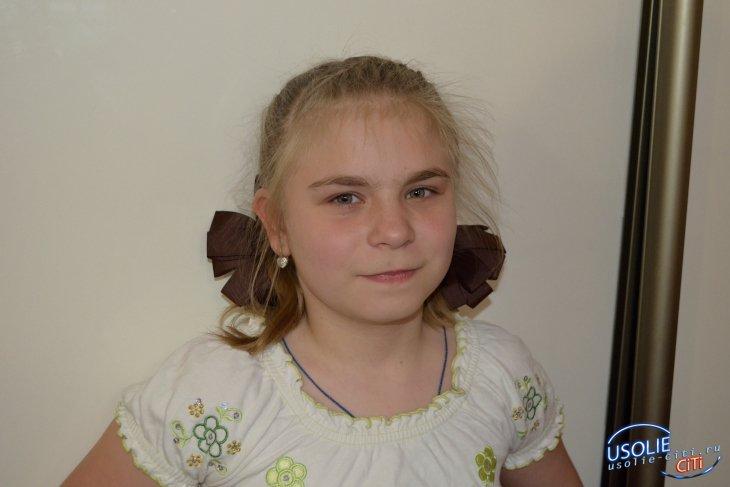 11-летней Олесе Шабалиной из Усолья нужна помощь