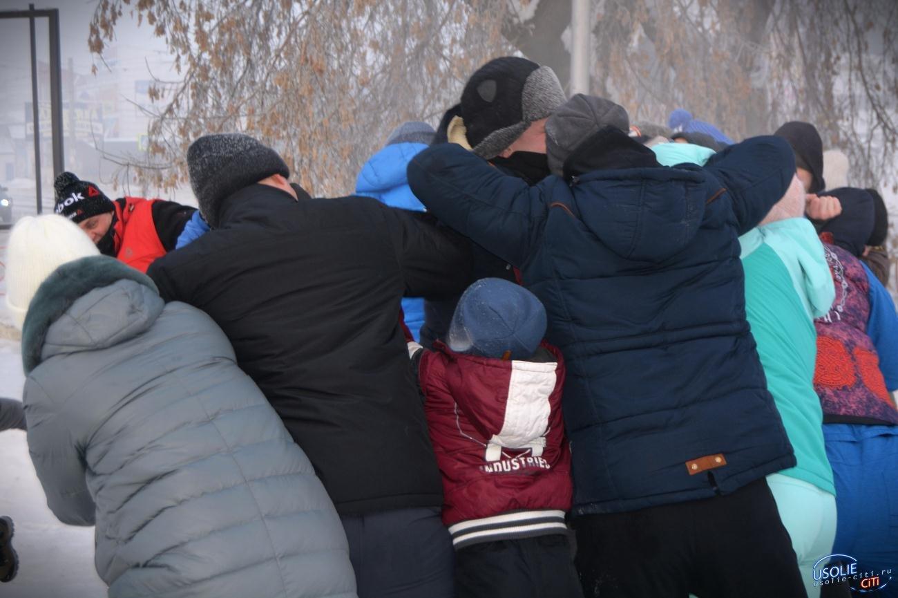 1-го января в Усолье сошлись стенка на стенку