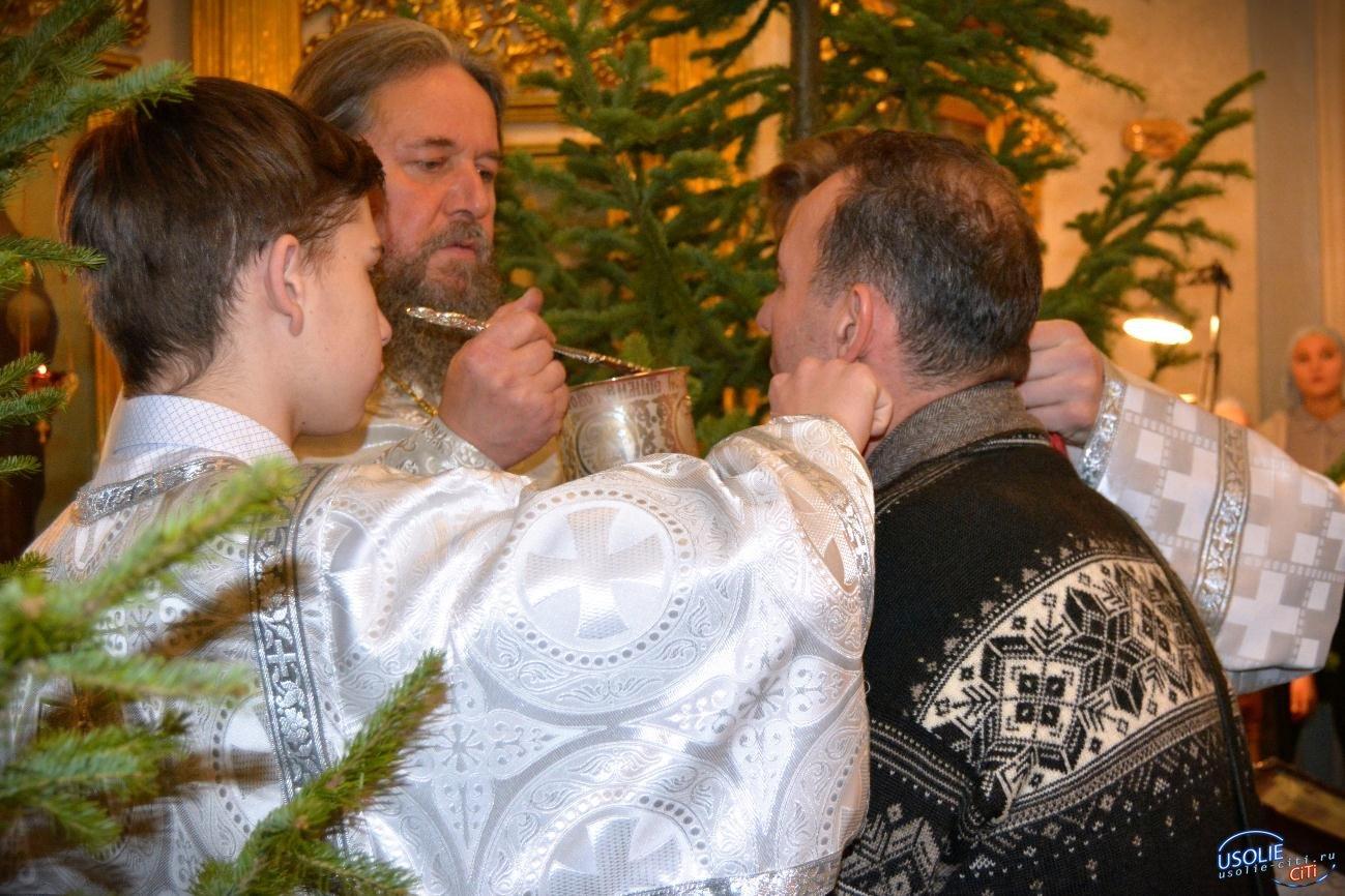 Жители Усольского района встретили праздник Рождества Христова