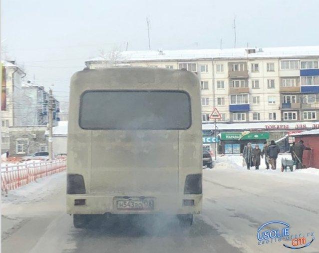 В Усолье с маршрута сняли  автобус из-за критики в вайбере