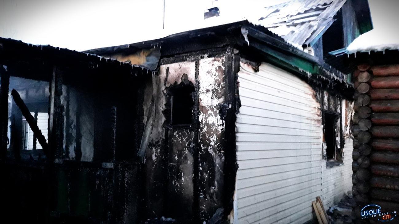 В Усолье заживо сгорел мужчина