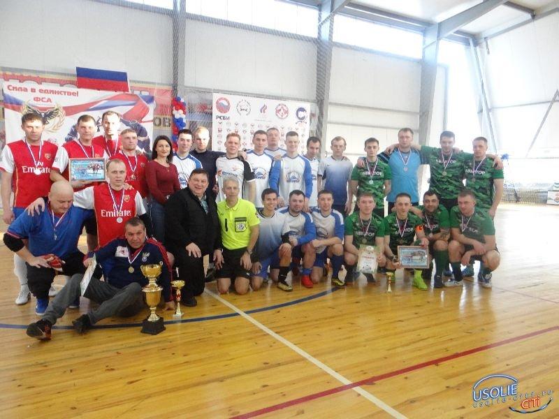 Новая федерация футбола в Усолье провела первый турнир