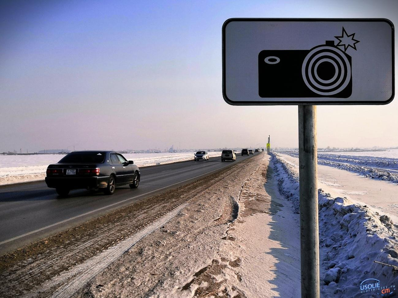В Усолье установили камеры на пешеходных переходах