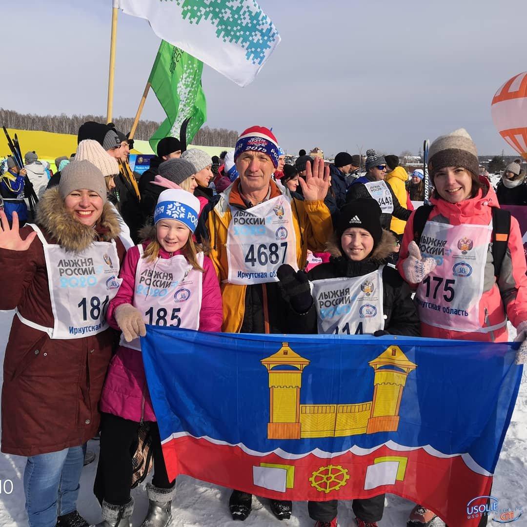 129 усольчан приняли участие в Всероссийской массовой гонке