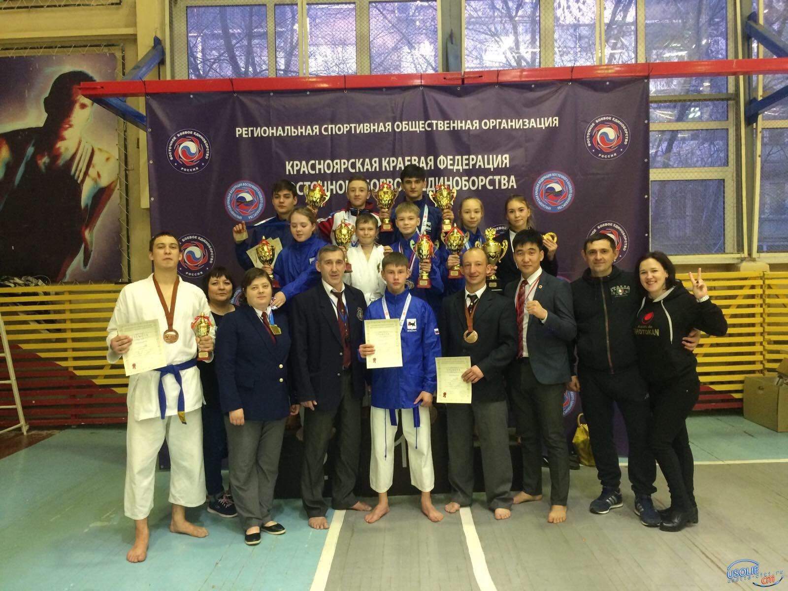 Девять каратистов - восемь медалей: Клуб