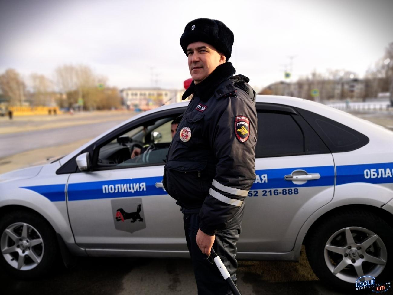 В выходные в Усолье задержаны восемь пьяных водителей