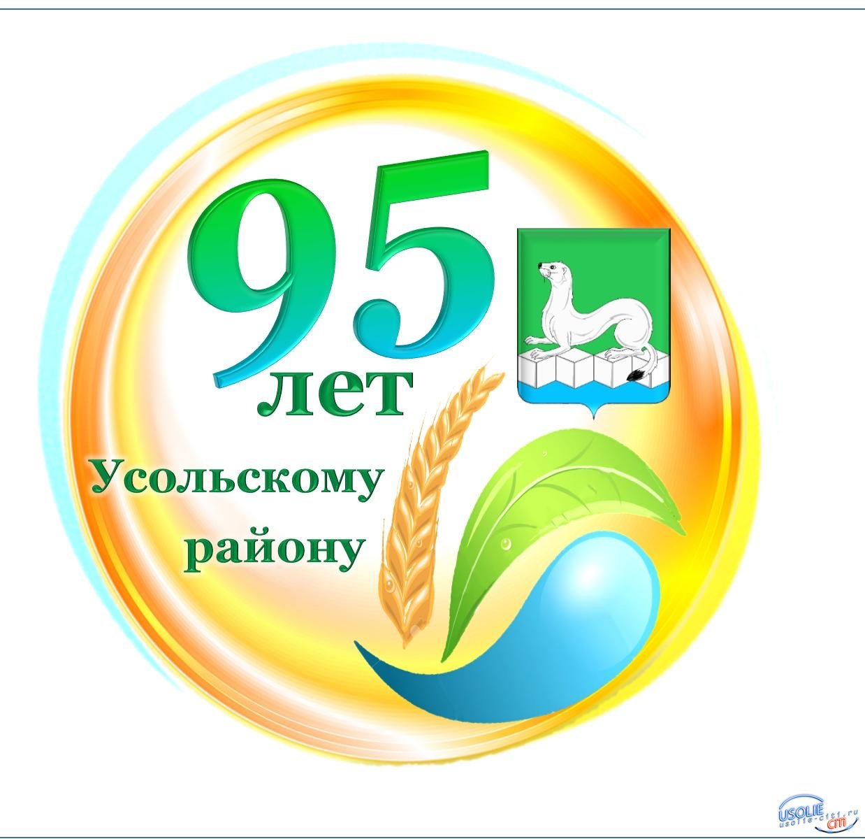 Лучшей эмблемой Усольского района выбрали работу жительницы Тайтурки