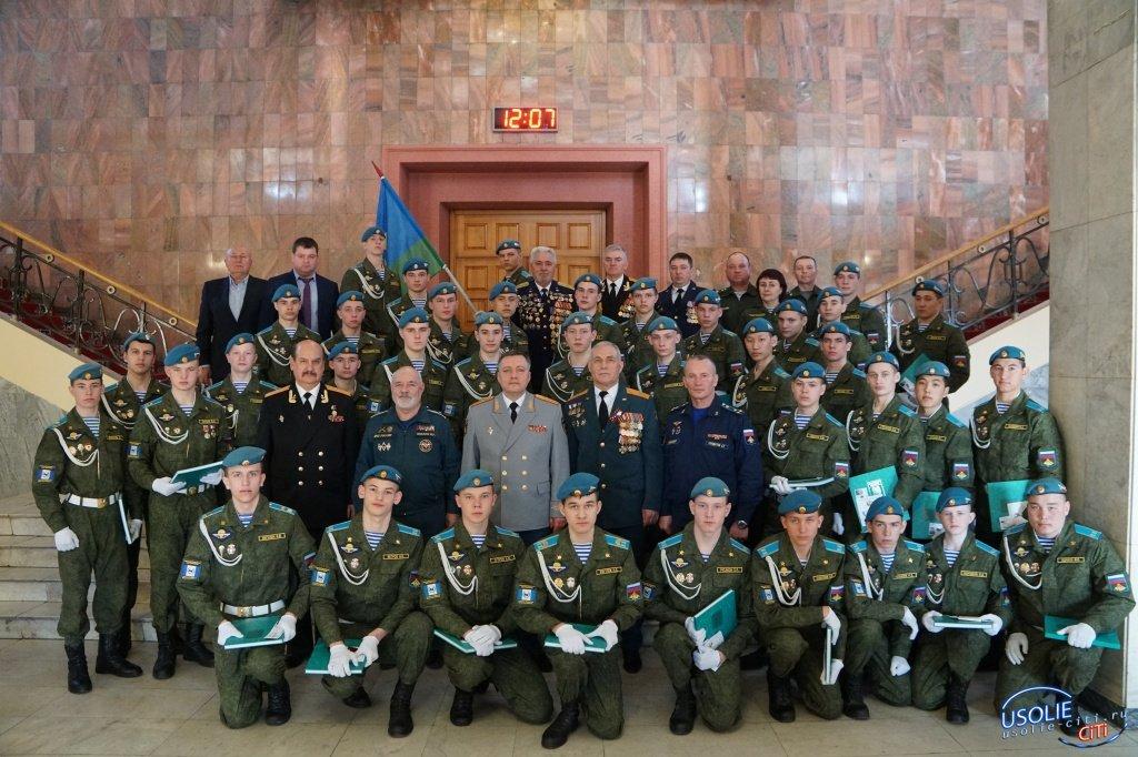 Игорь Кобзев гордится усольскими кадетами