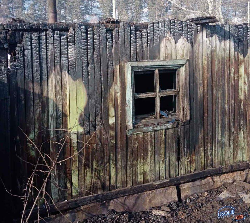 Неизвестные спалили баню правозащитника Усолья
