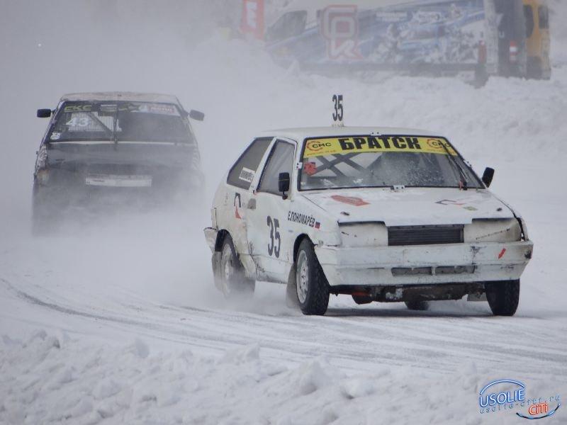 Автогонки на льду  в Усолье - 2020.  Фотоотчет