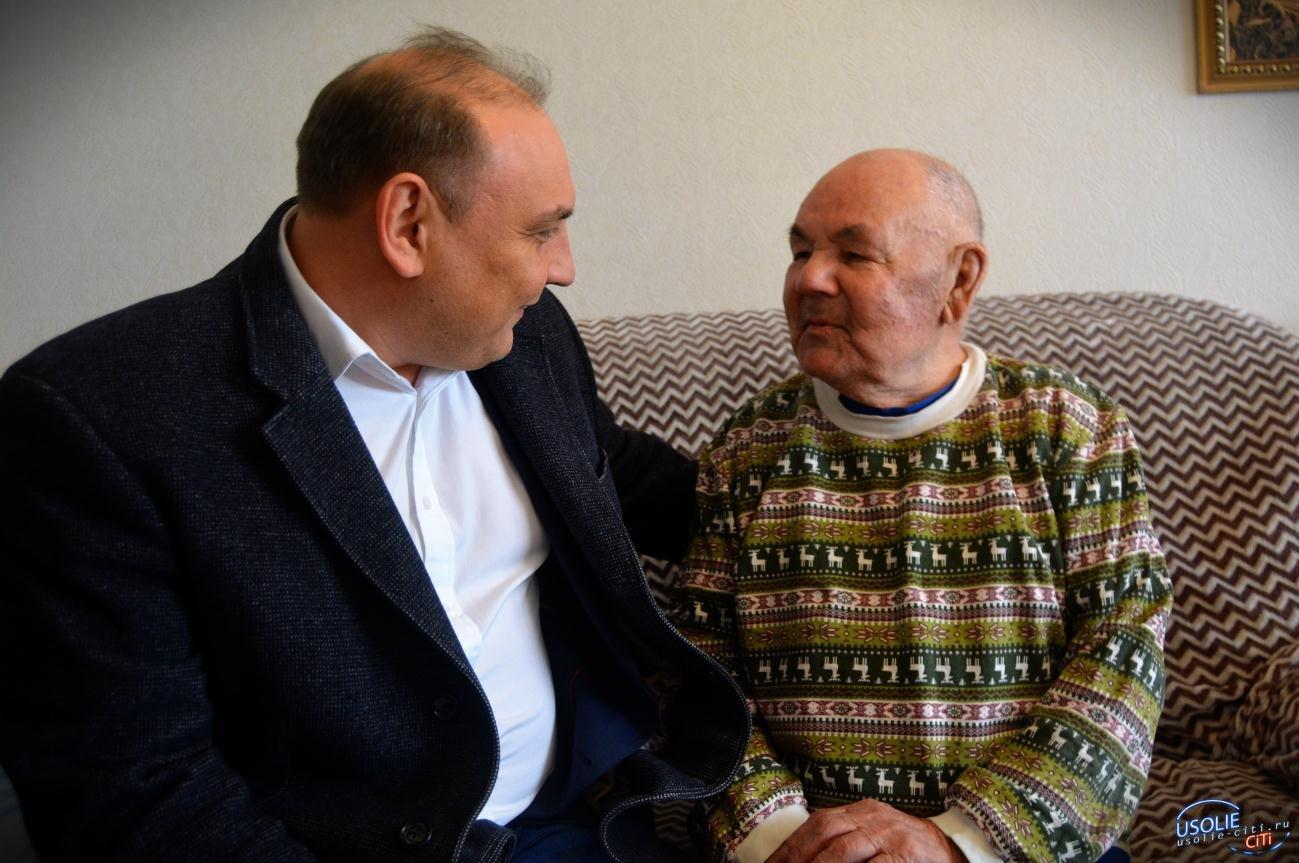 Гавриилу Гамзулину в Усолье вручили медаль