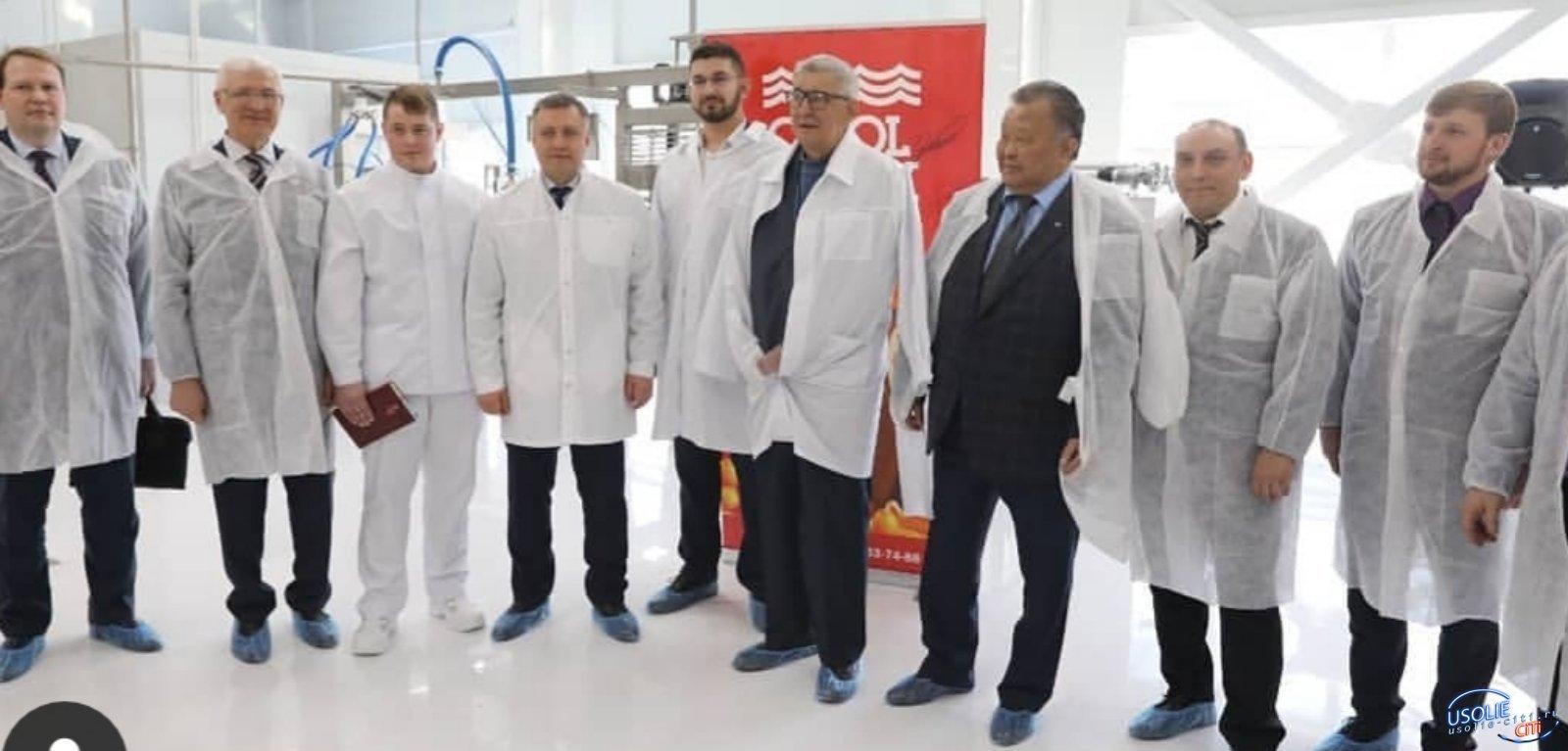 В Усолье состоялось открытие фабрики мороженого