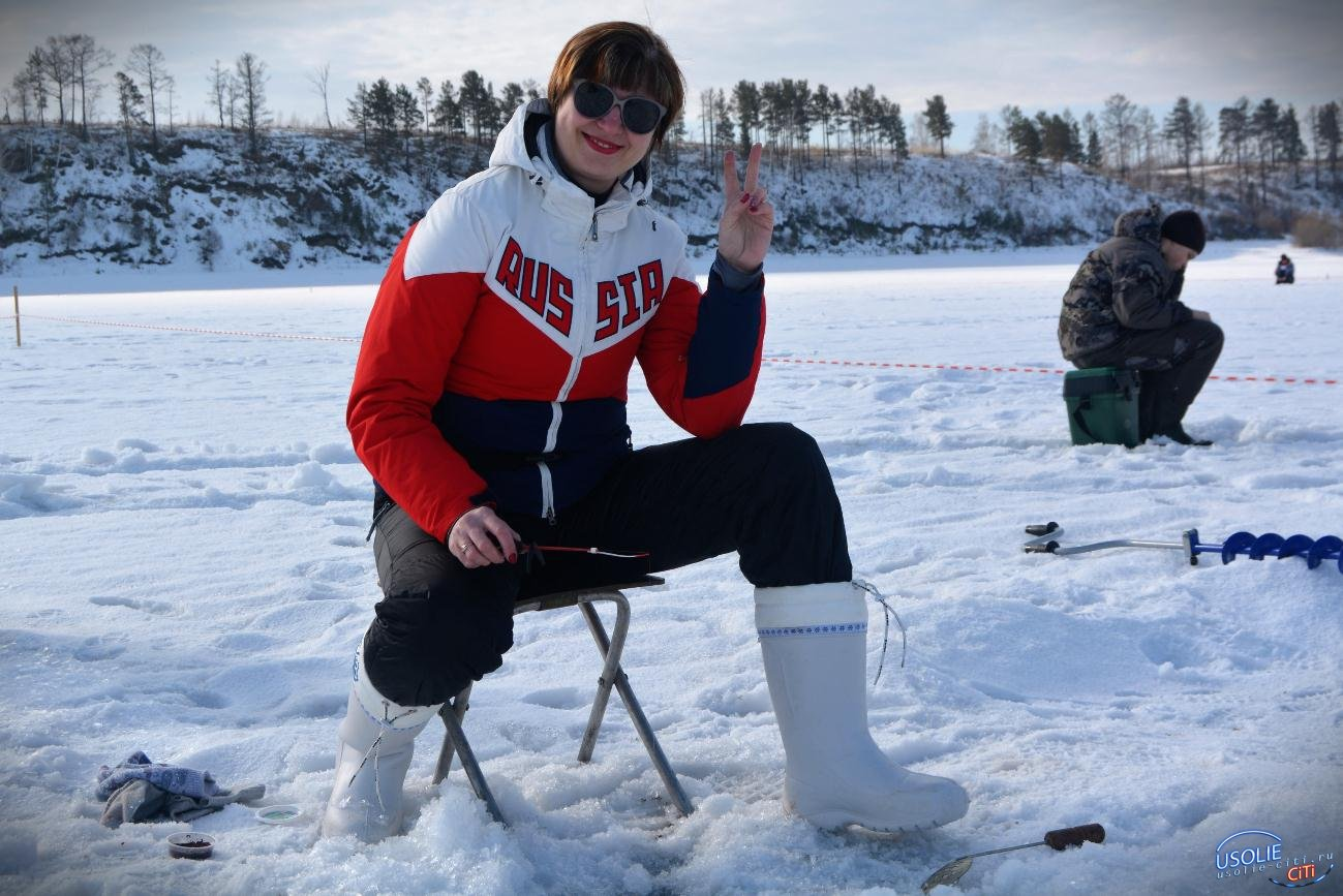 В Усольском районе соревновались в зимней рыбалке