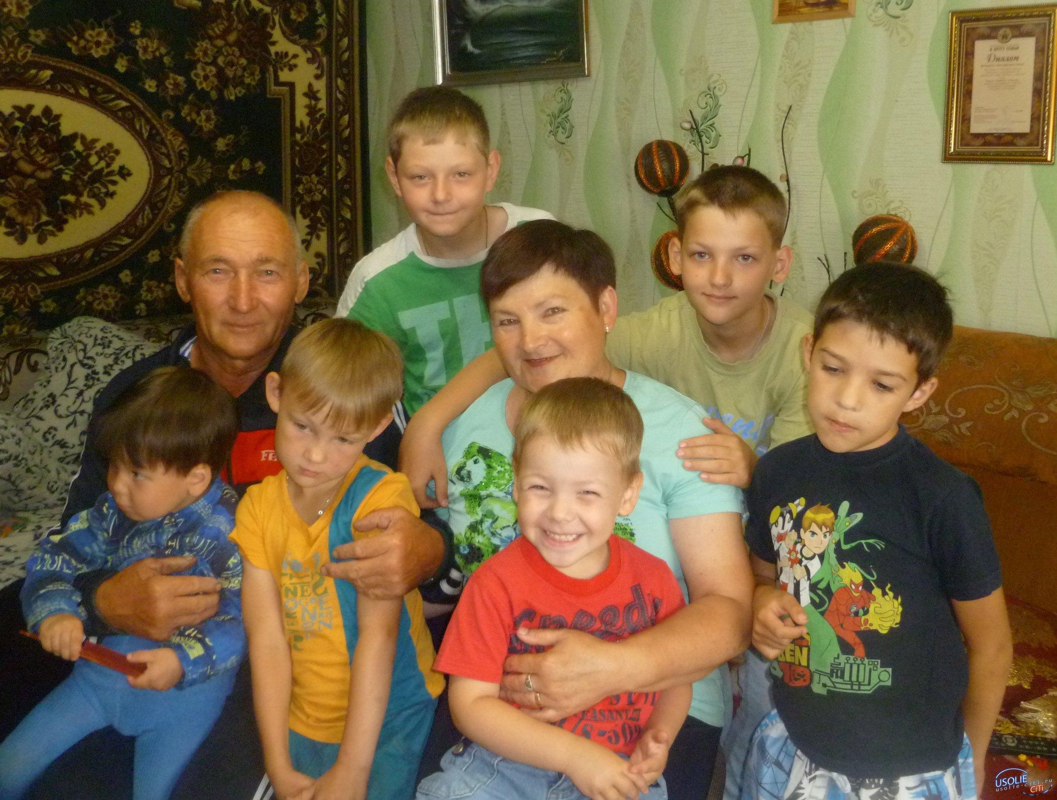 Рубиновую свадьбу отметили в Сосновке Усольского района