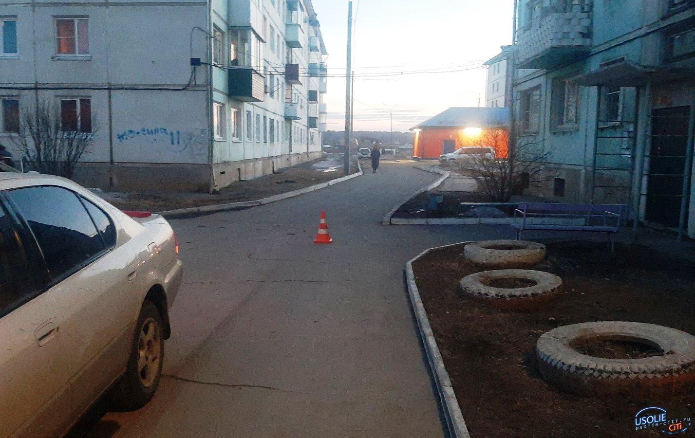 Мальчик в Усольском районе ударился об проезжающий автомобиль
