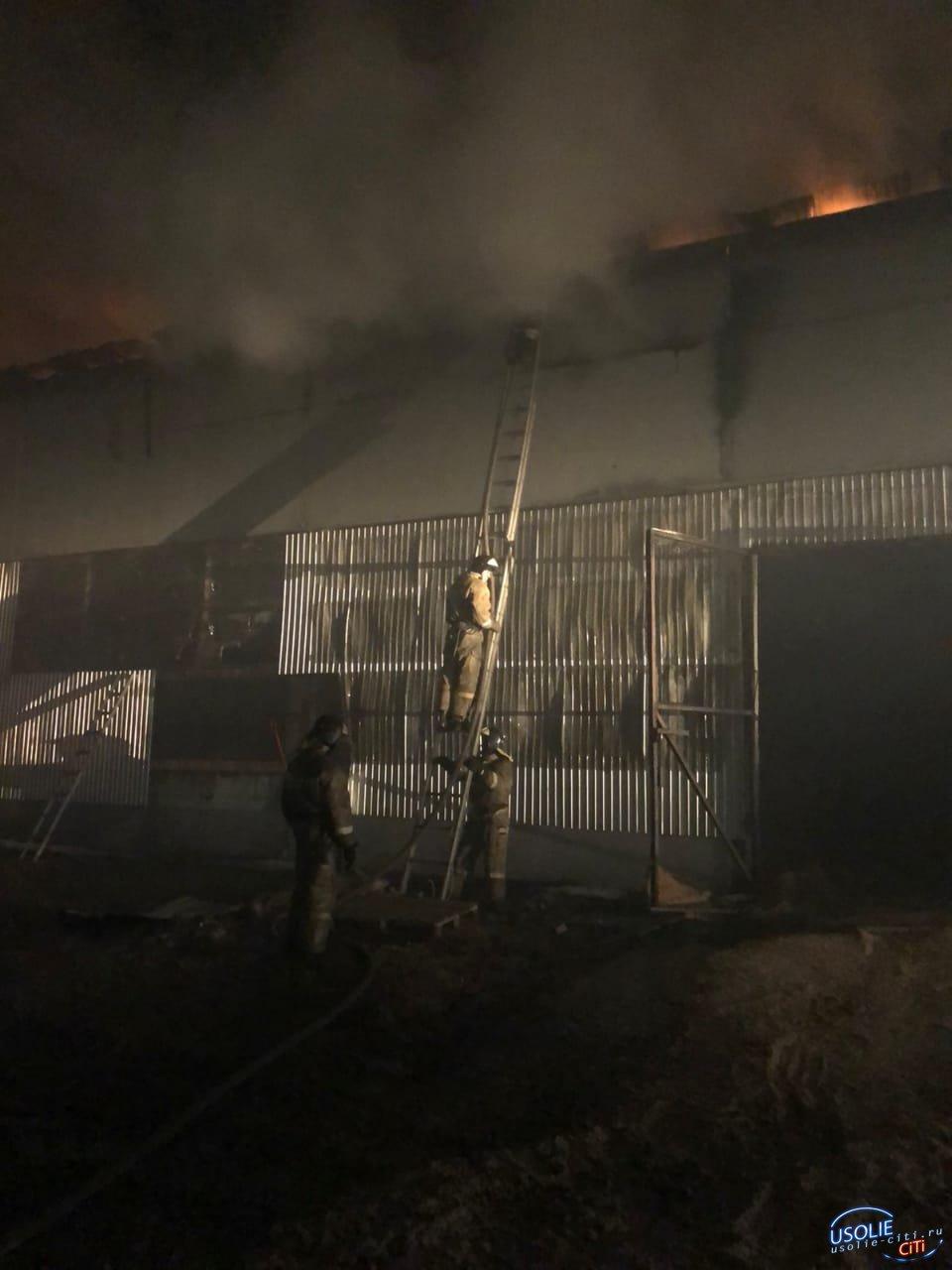 Три пожара произошли в Усолье за неделю