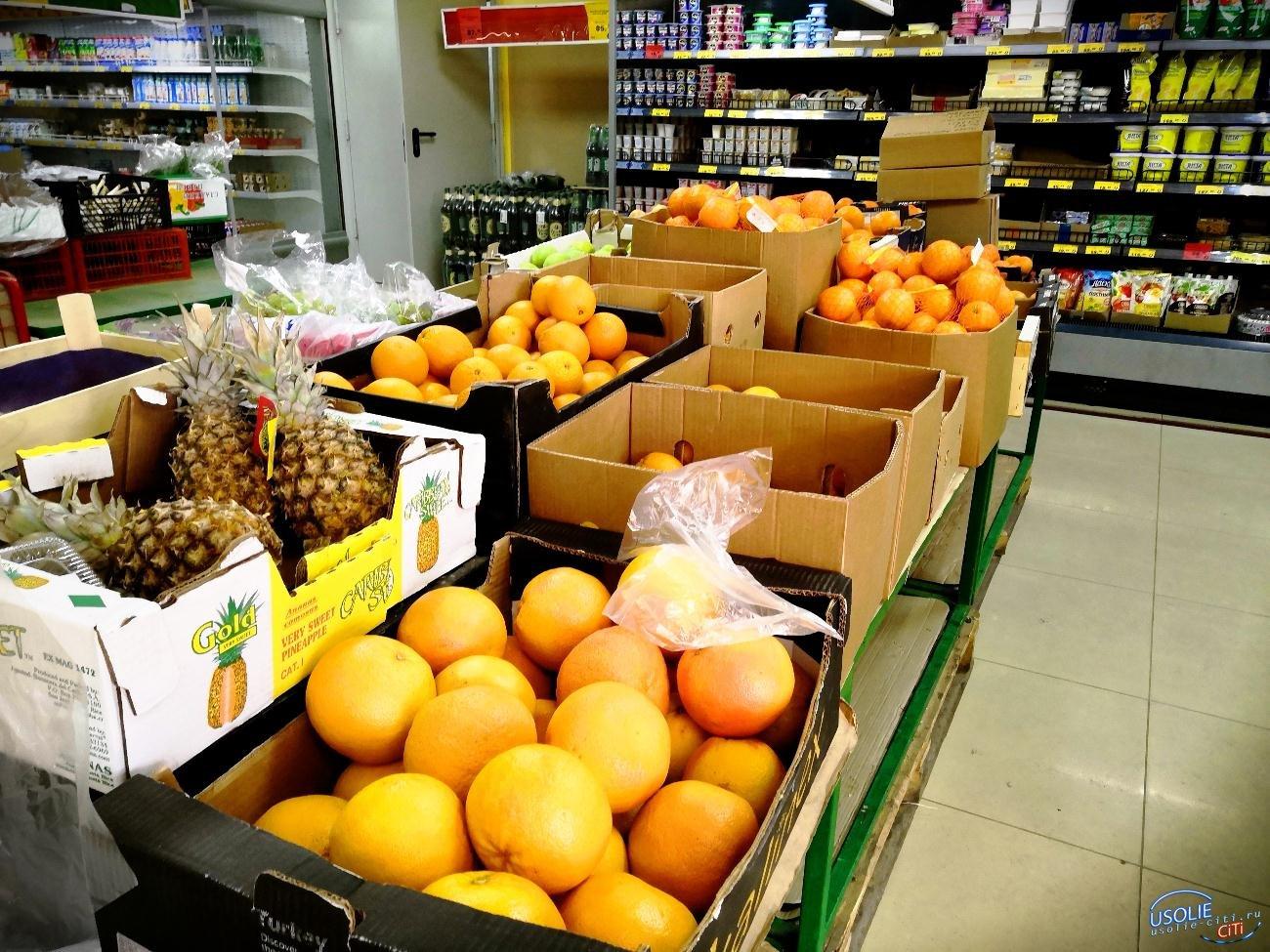 Лимон - 500 руб/ кг: Подорожали продукты в Усолье