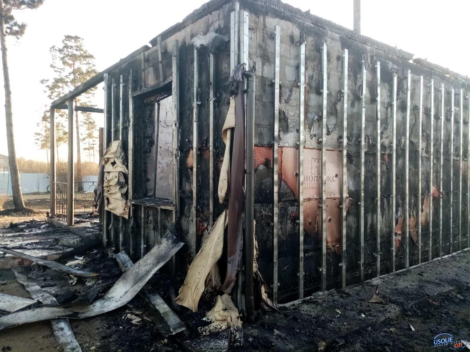 Дома горят, трава горит! В Усолье и в районе запрещено разводить костры