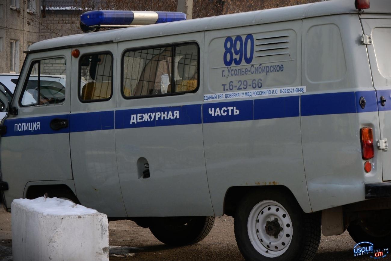 По улице Машиностроителей в Усолье поймали наркомана