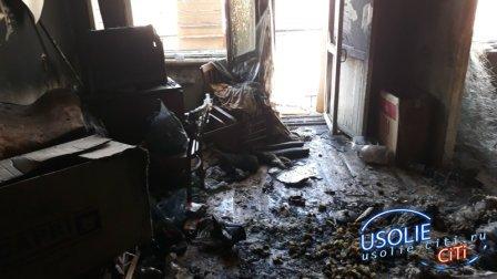 Хозяин вышел - квартира загорелась: Пожар в Усолье