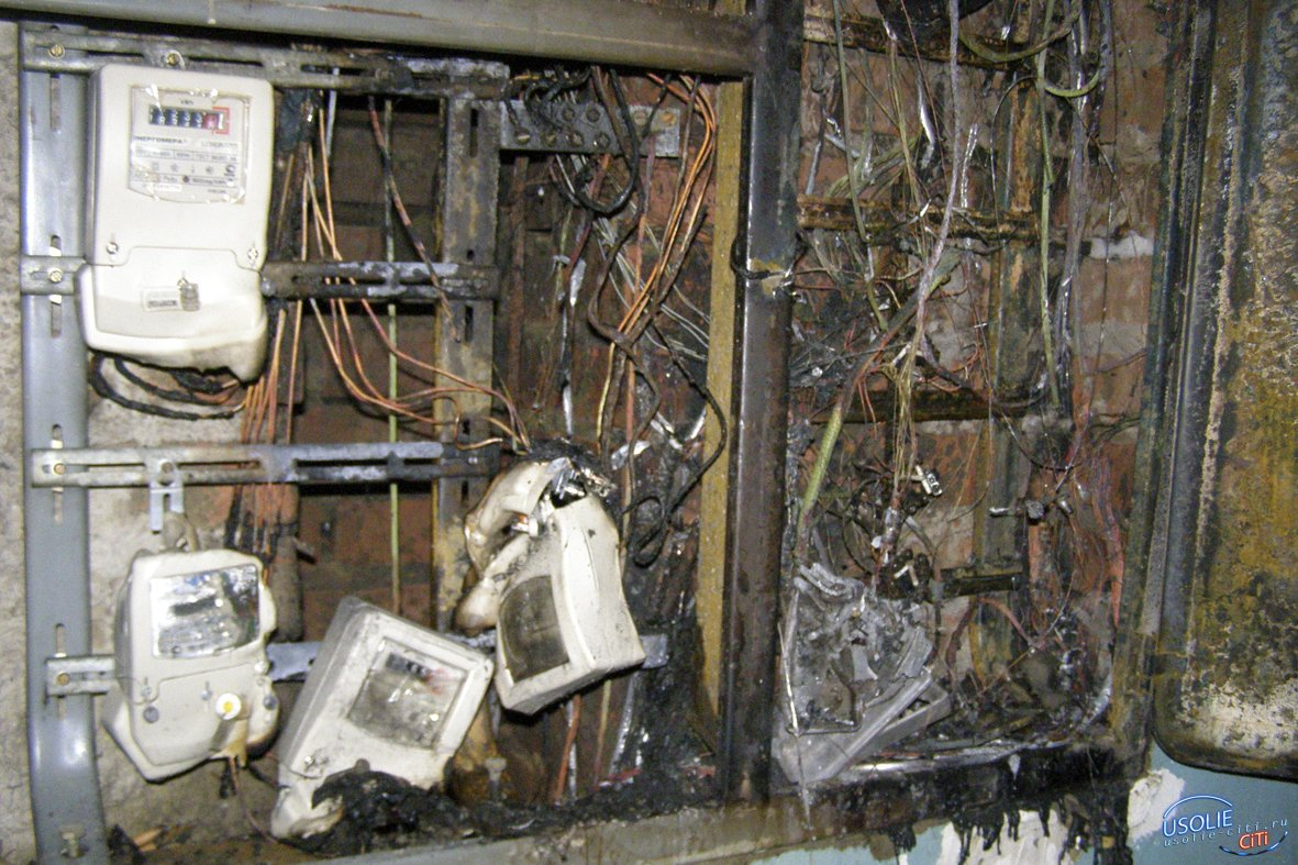 Щиток взорвался: Пострадал усольский электрик