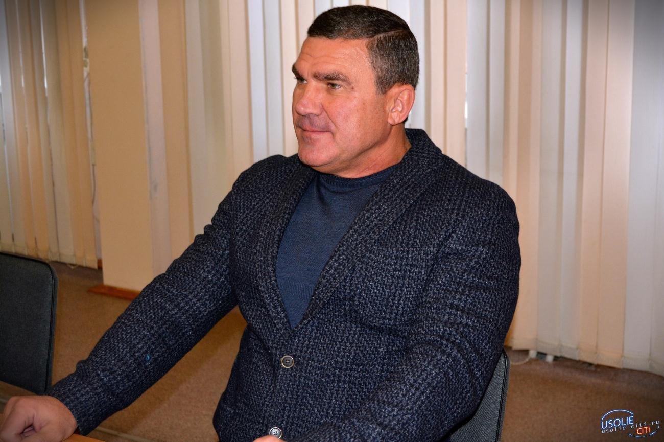 Сергей Мельников в Усолье установит футбольные ворота