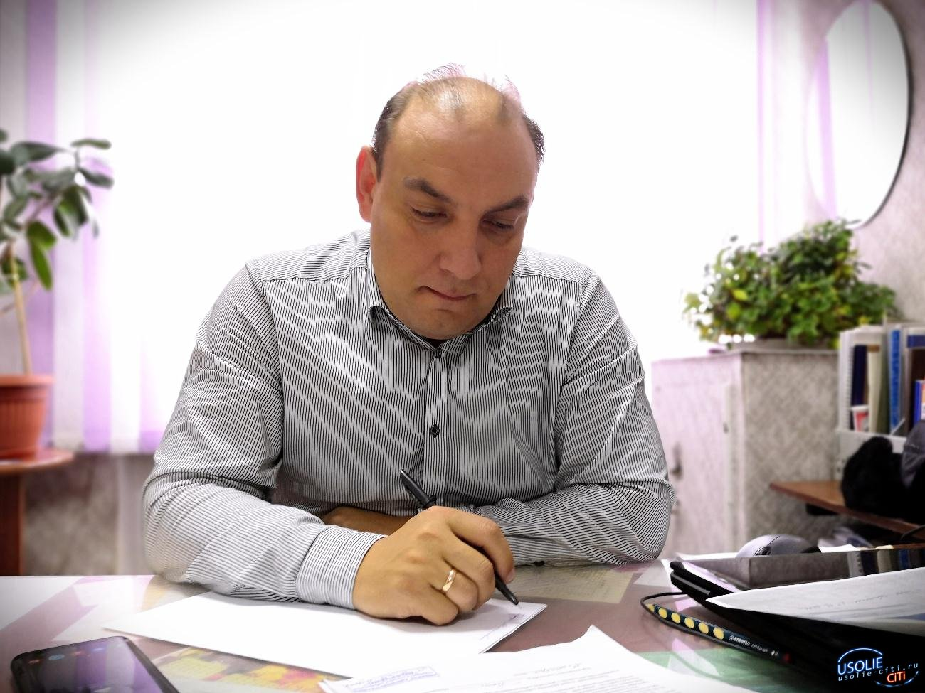 Мэр Усолья сообщает об оперативной обстановке по коронавирусу