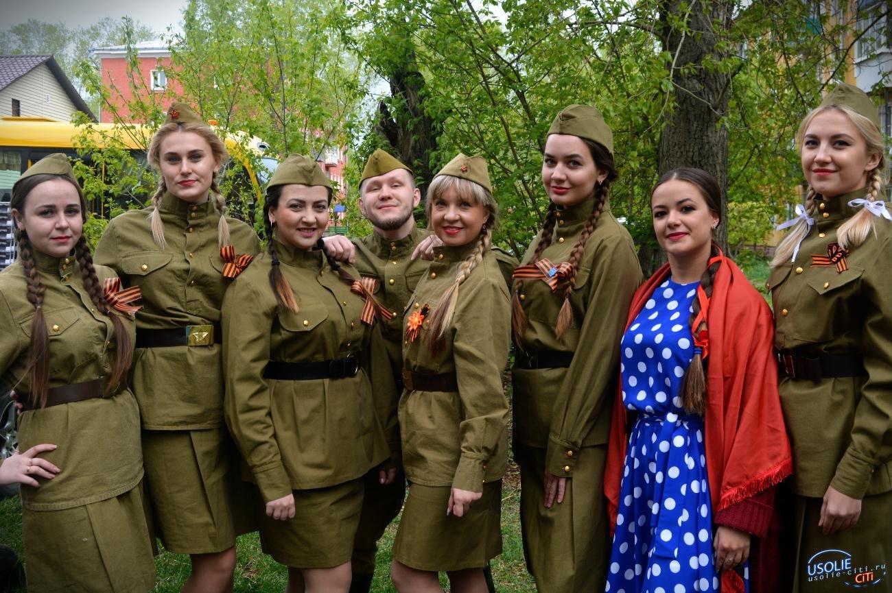 Фронтовые бригады Усолья посетили ветеранов
