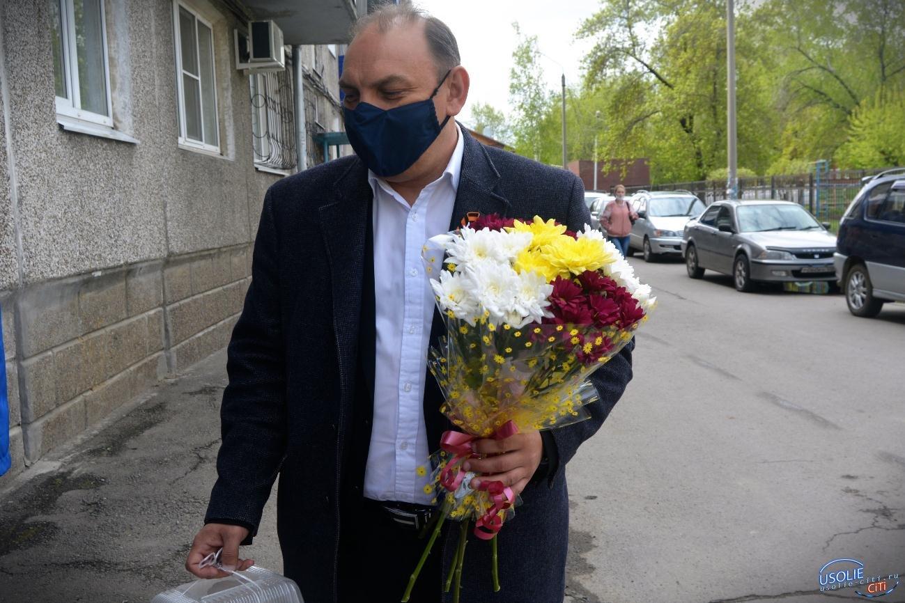Праздник на карантине День Победы в Усолье
