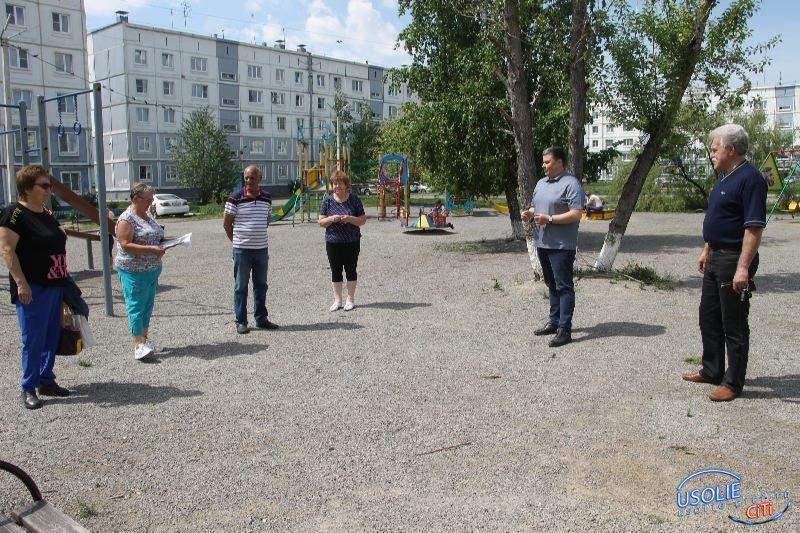 Вадим Кучаров: В большом дворе появятся тренажеры