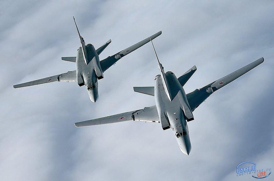 Офицеры-выпускники участвовали в тренировочных полетах над Усольским районом