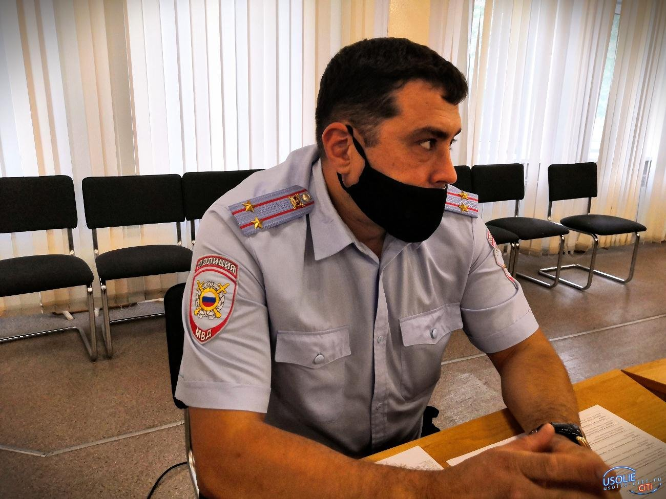 Полиция Усолья готова пресечь любые правонарушения в Белореченском госпитале