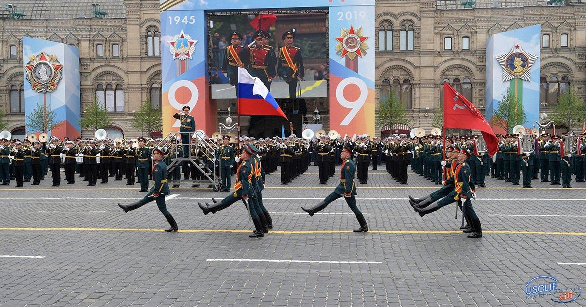 Трое усольчан участвуют в параде Победы на Красной площади