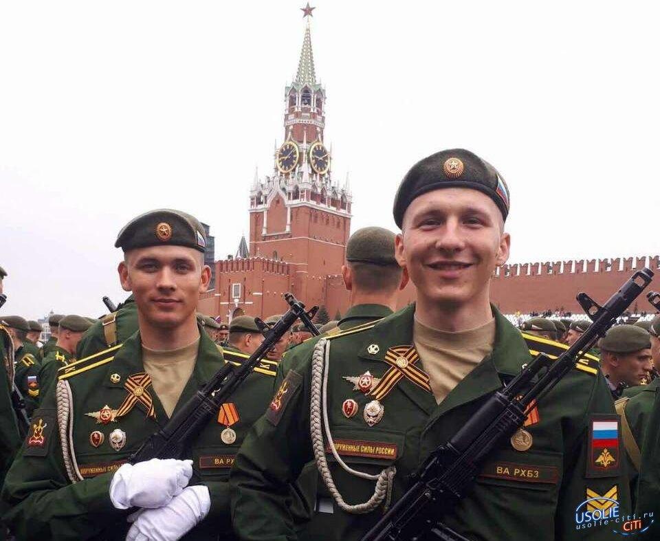 Парад Победы: Усольчанин Николай Снегерев третий раз будет шагать по Красной площади