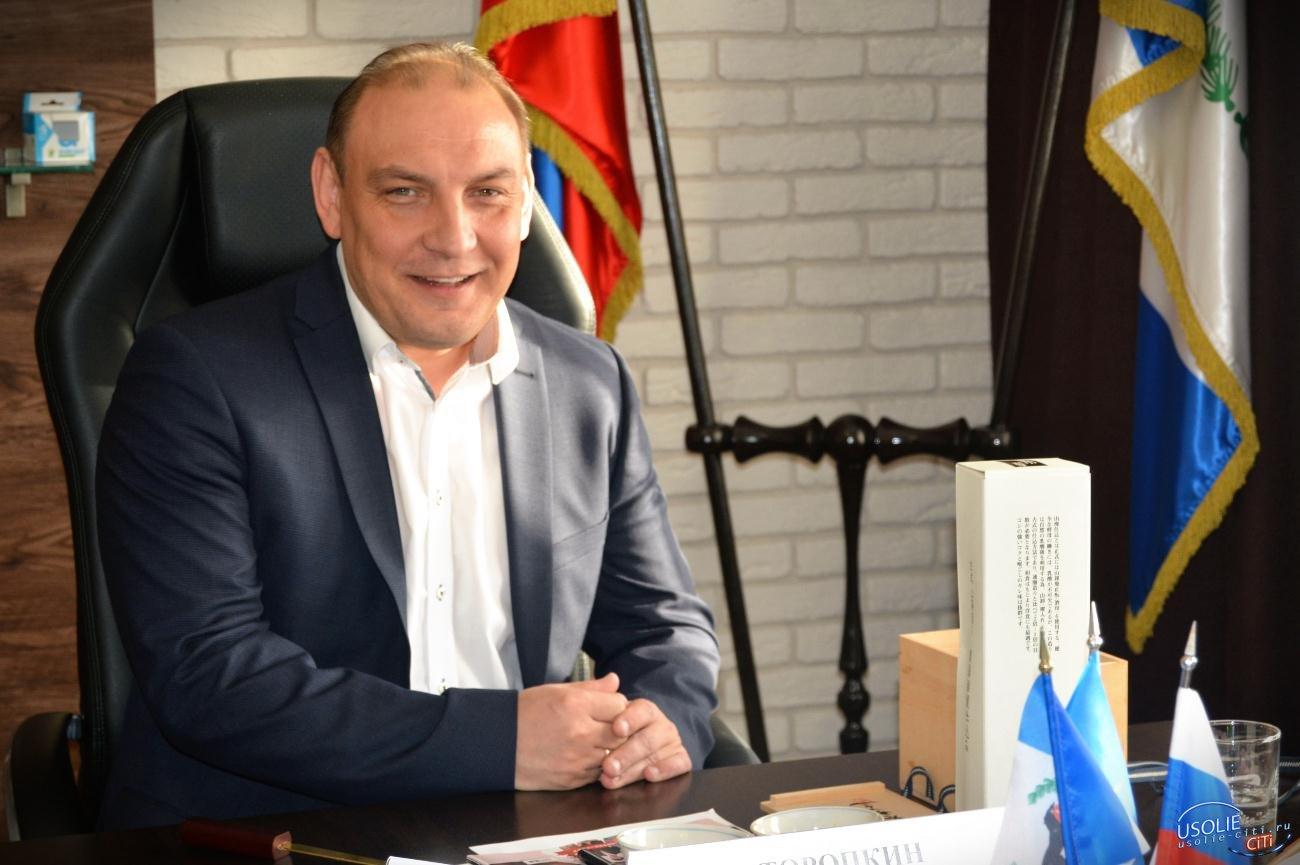 Мэр Усолья благодарит всех участников голосования