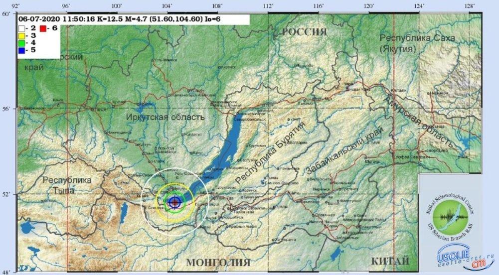 Землетрясение: Усолье трясло